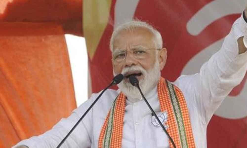 Never took help of my caste to garner votes: PM mocks Mayawati, Akhilesh