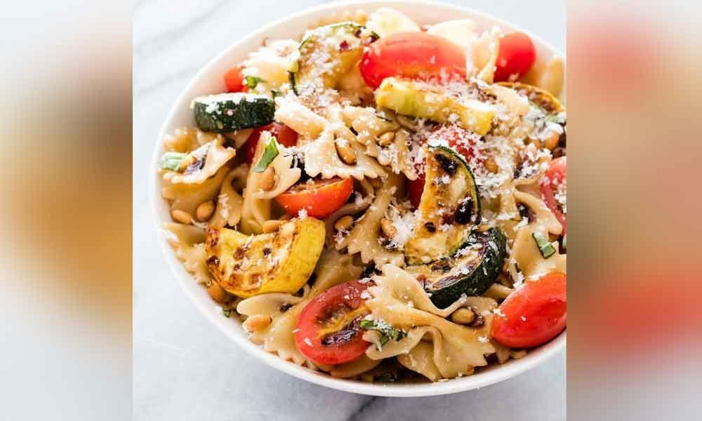 Summer Special: A colourful pasta dish