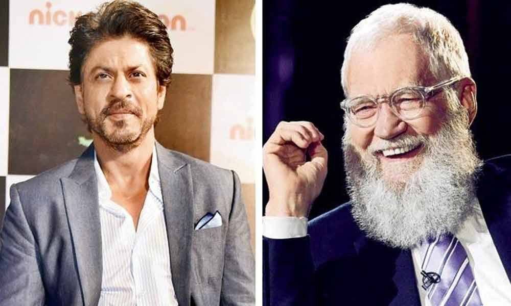SRK to be the first Indian celebrity guest on David Lettermans Netflix talk show