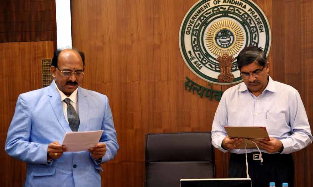 Raja takes oath as RTI Commissioner