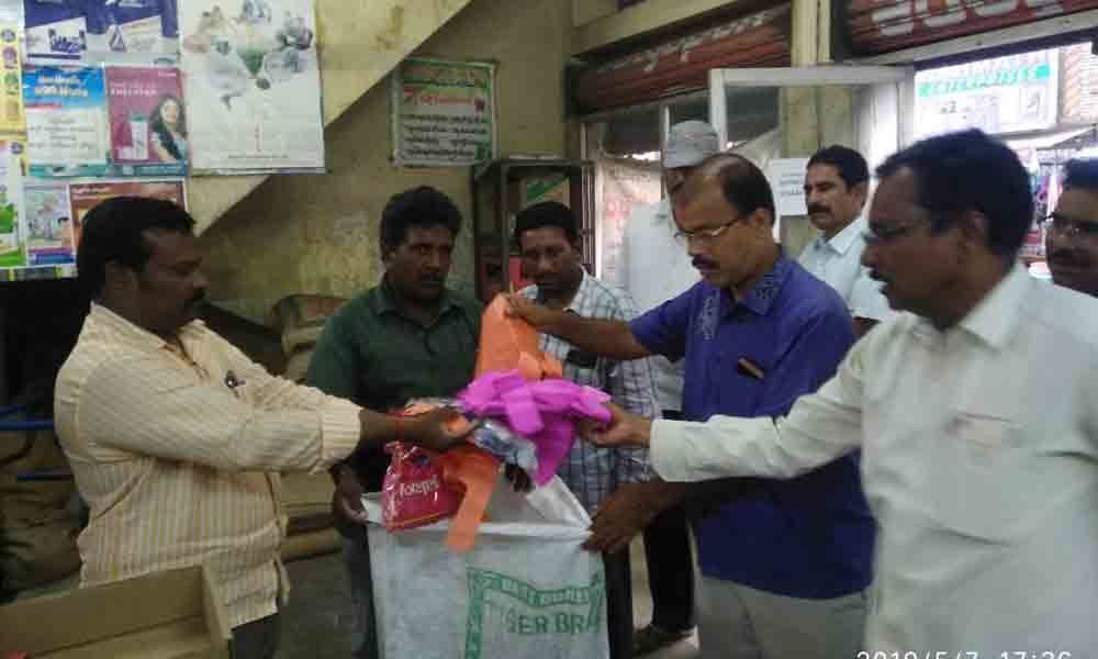 VMC plans 100% ban on plastic covers usage