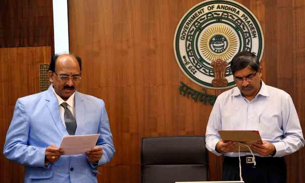 Ilapuram Raja assumes office as Information Commissioner