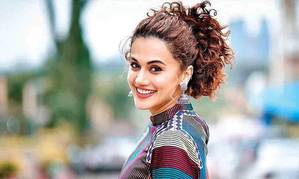 Taapsee finds her match