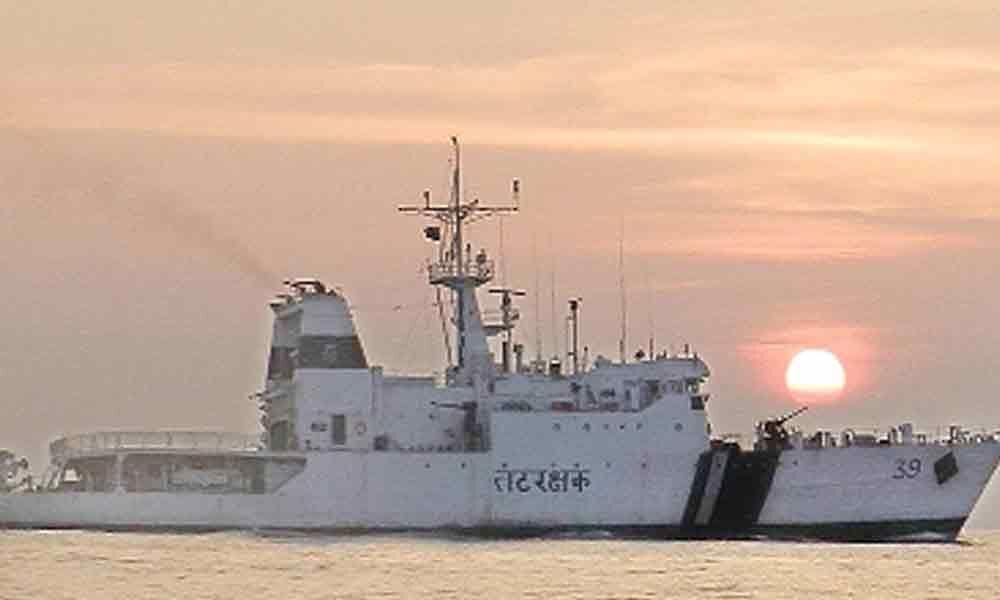 Its end of SAIL for Coast Guard Ship Vigraha
