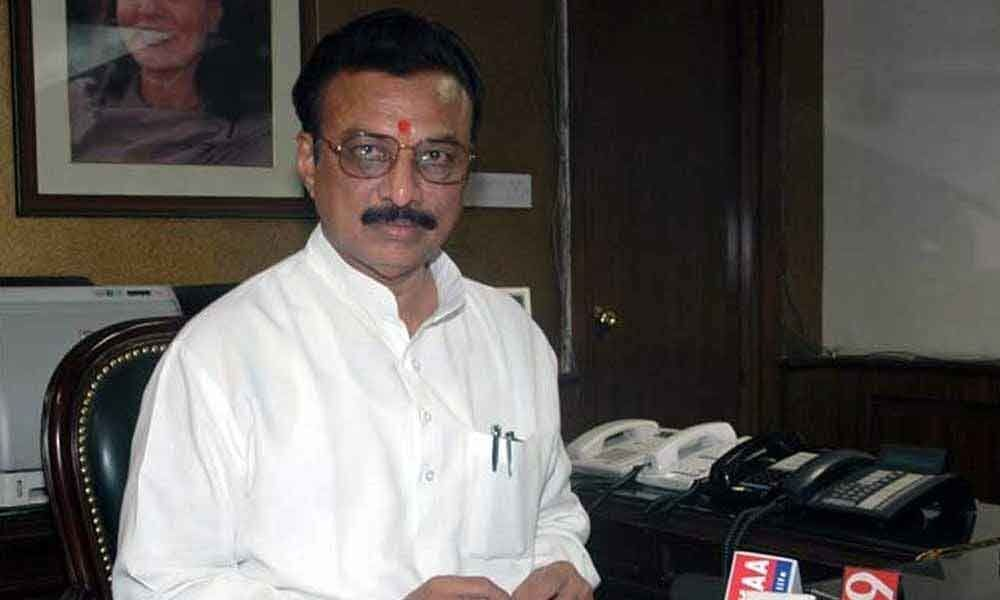 Former union minister Sai Prathap Reddy joins Congress