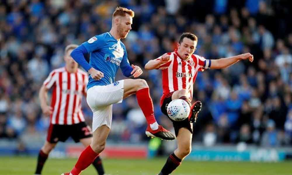 Soccer: Sunderland shackle Portsmouth to reach League One playoff final