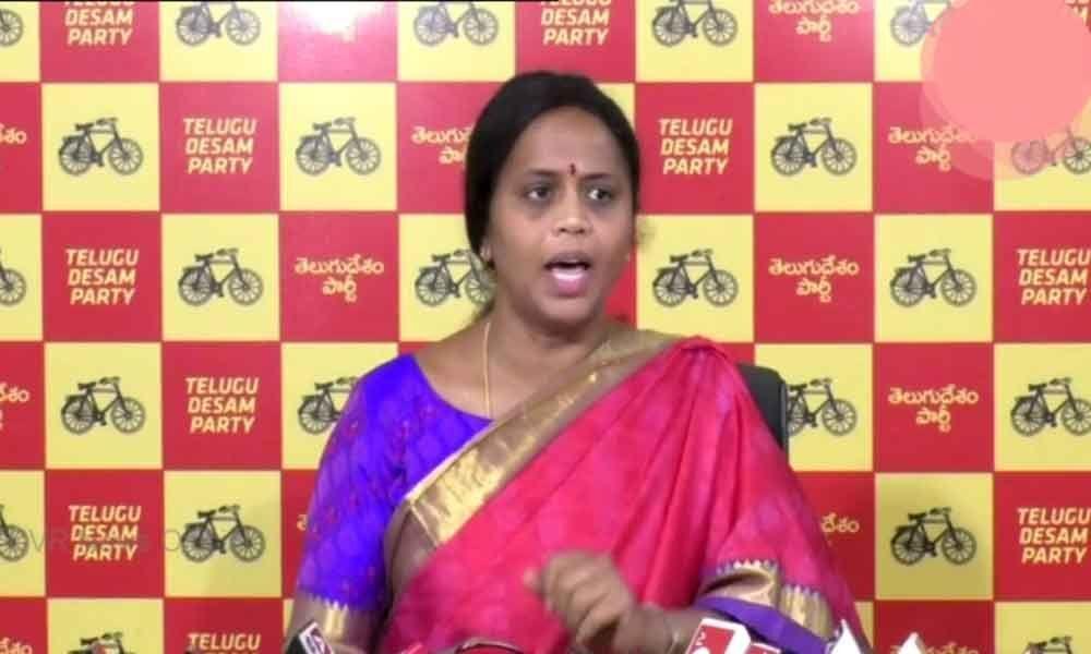TDP leader sensational comments on AP CS LV Subramanyam