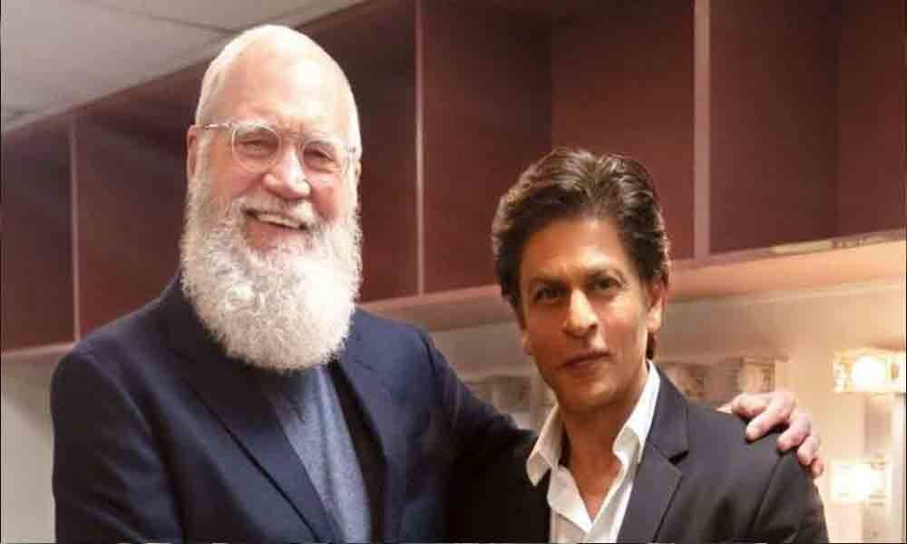 Shah Rukh Khan honoured to share story with Letterman
