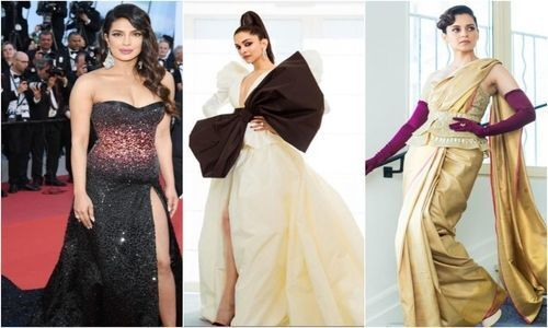 Bollywood divas dazzle at Cannes red carpet