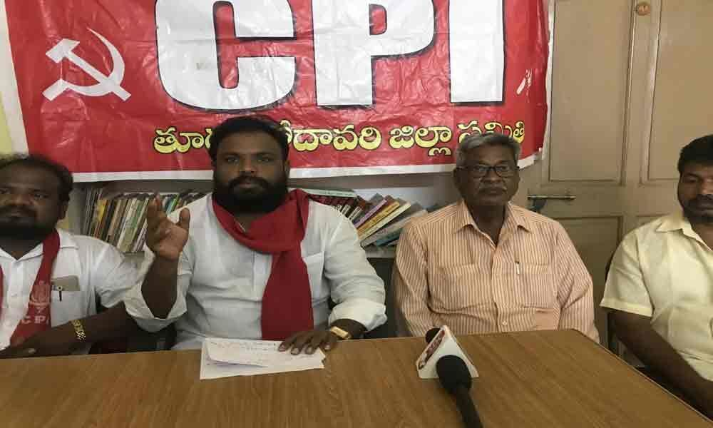 CPI criticises official apathy to farmers issues