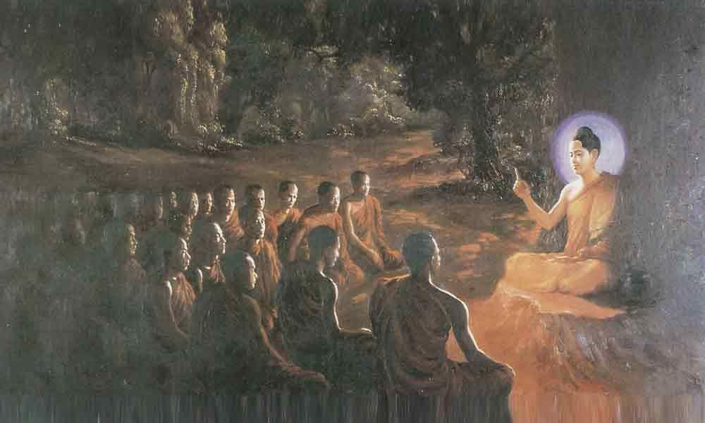 Lord Buddha: The universal preacher