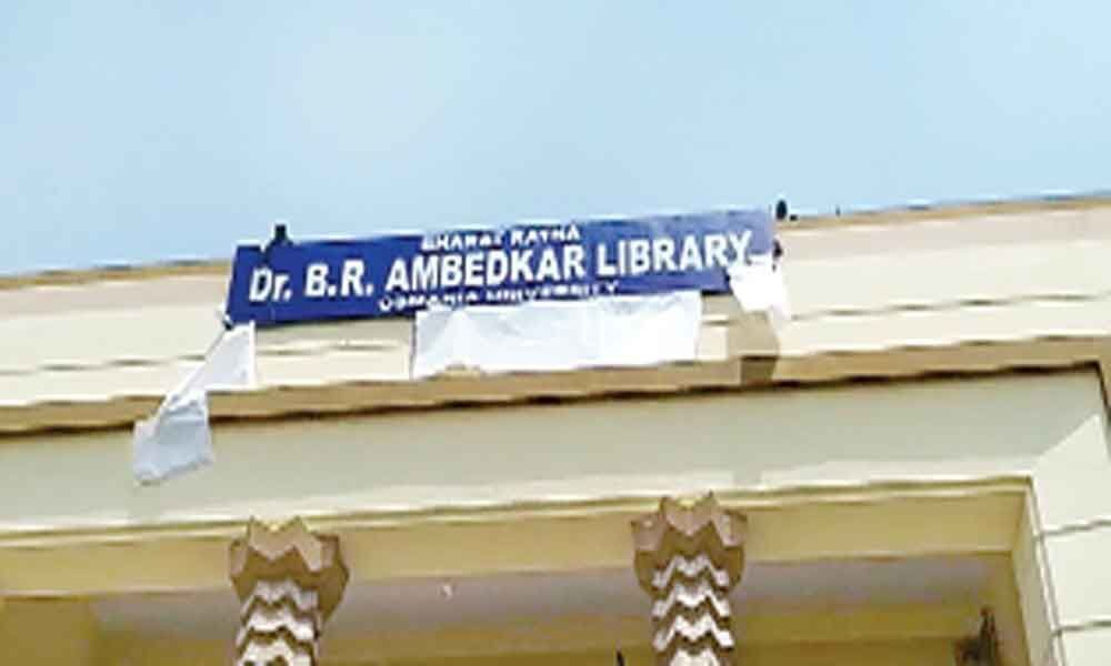 Osmania University library renamed after the Father of Constitution