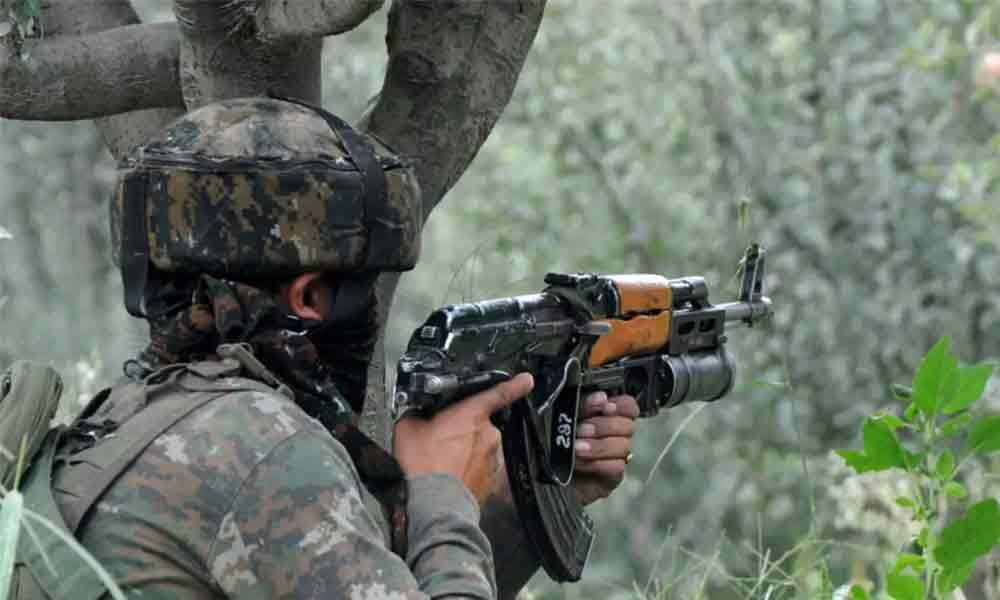 Terrorist killed in encounter with security forces in J&Ks Pulwama