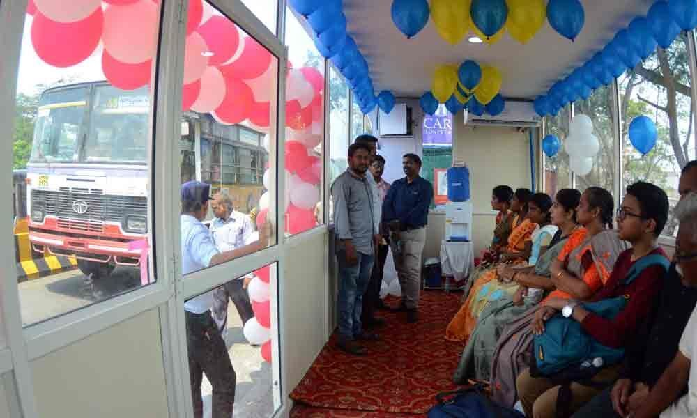 More cooler bus stops for city passengers
