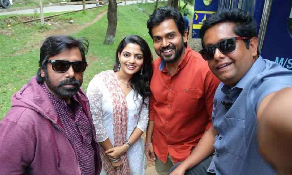 Malayalam actress signs a film with Karthi