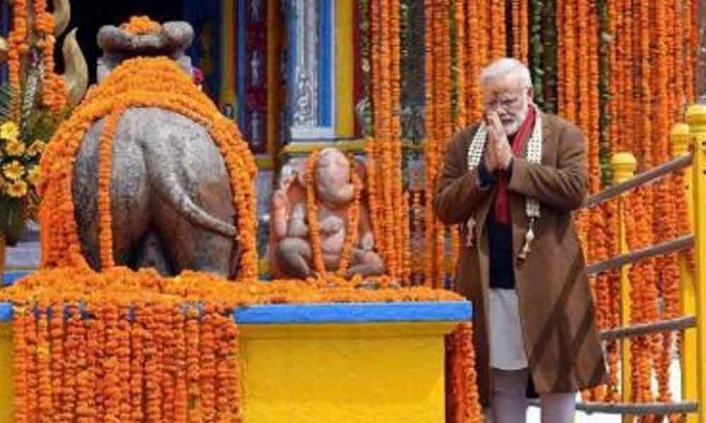 Modis spiritual sojourn raises questions