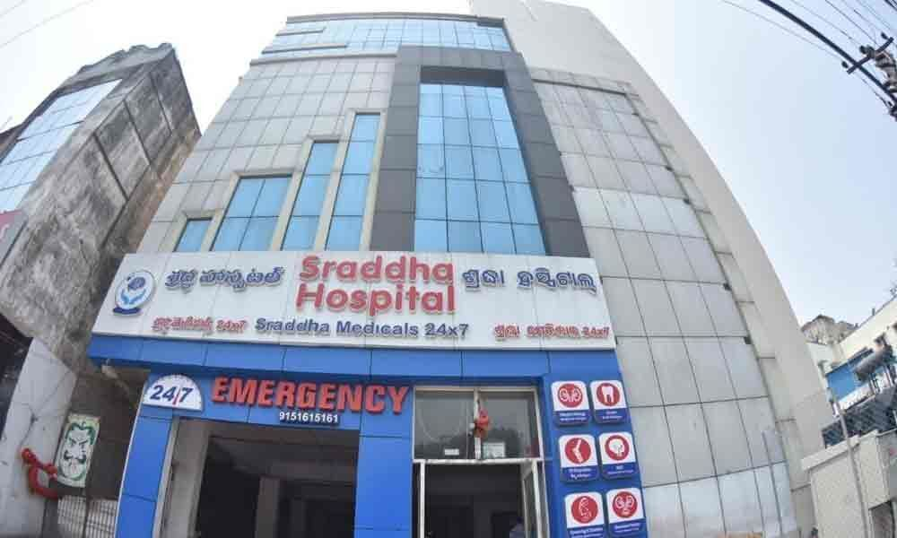 Sraddha Hospital sealed on Collector