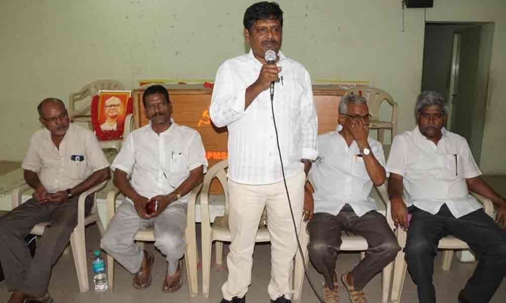 Rich tributes paid to Puchalapalli Sundarayya