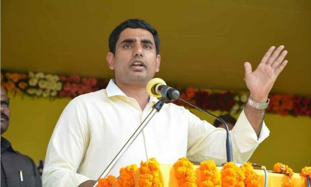 Lokesh says exit polls turned out farce