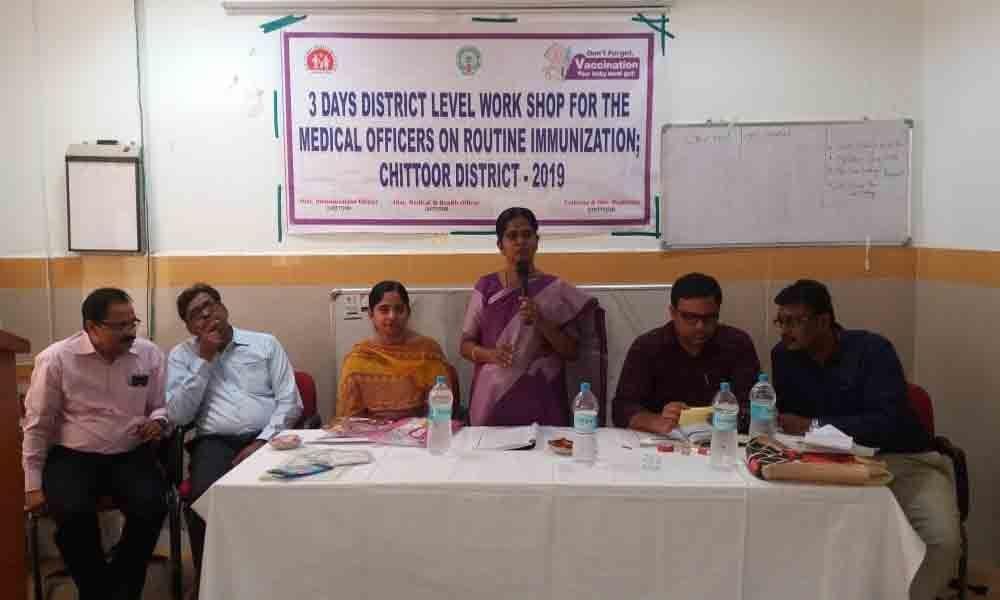 Workshop on immunisation begins in Tirupati