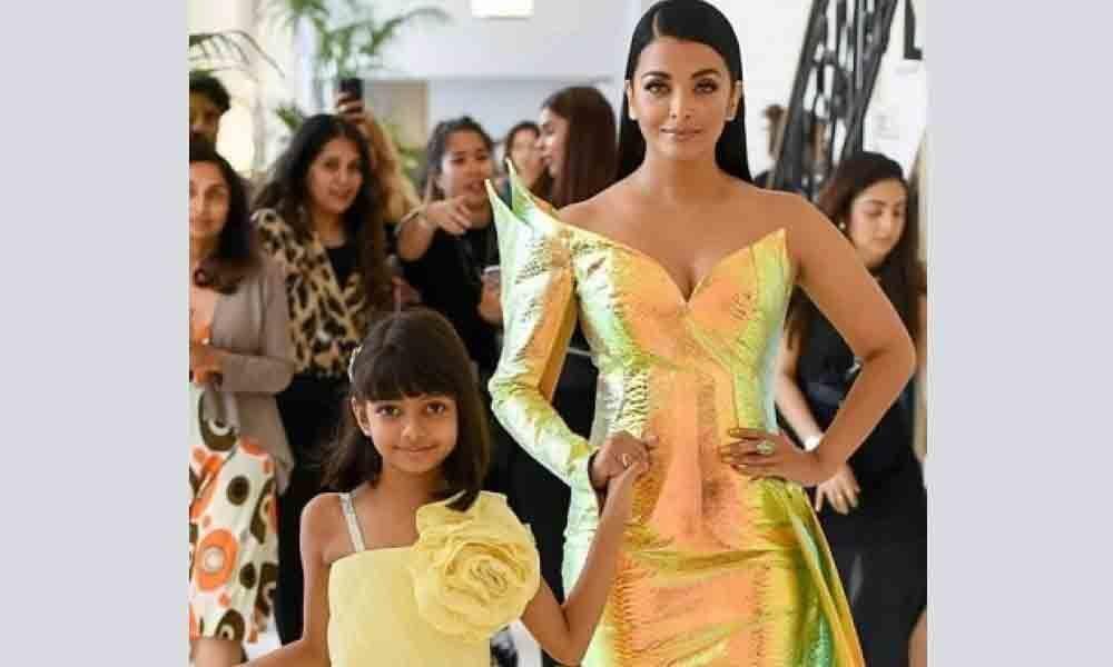 Aishwarya turns into mermaid at Cannes