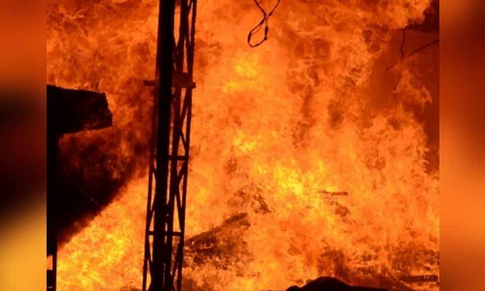Fire breaks out at Andhra counting centre