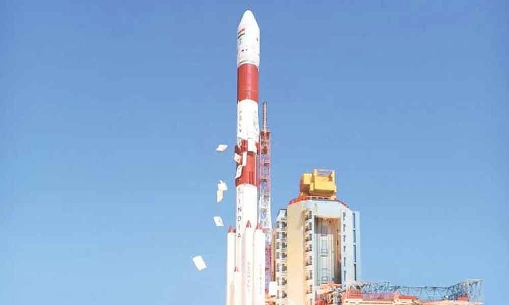 ISRO chairman visits Tirumala temple for PSLV-C46 satellite success