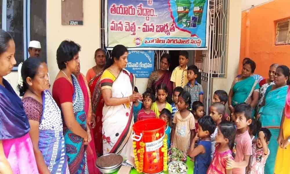 Home composting unit inaugurated