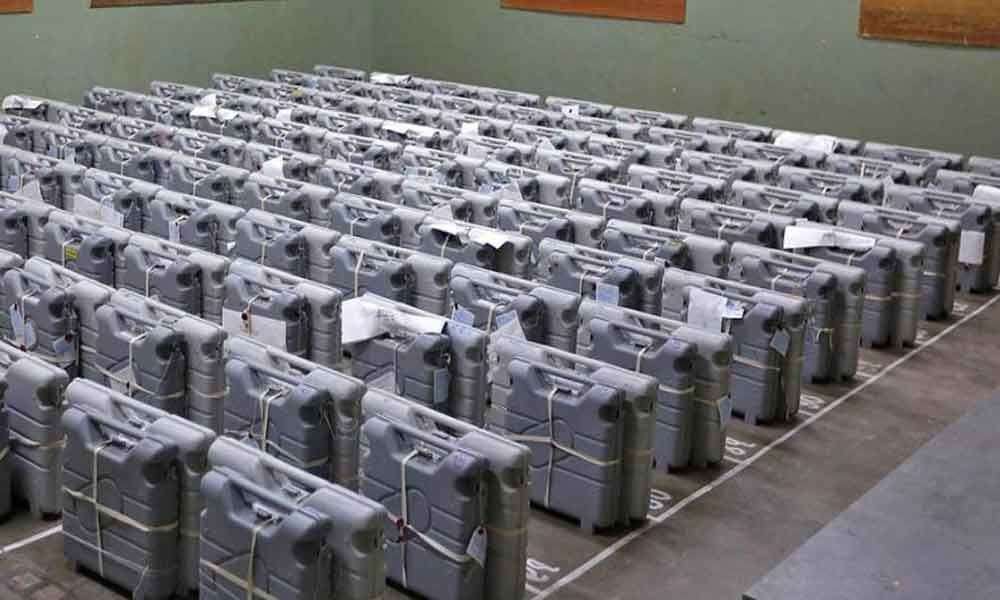 EVMs absolutely safe in strongrooms, says Election Commission