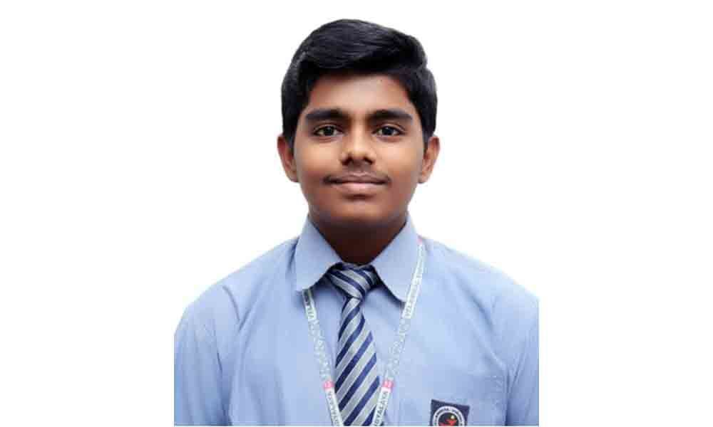 Velammal student gets TN State first in JEE (B Arch) exam