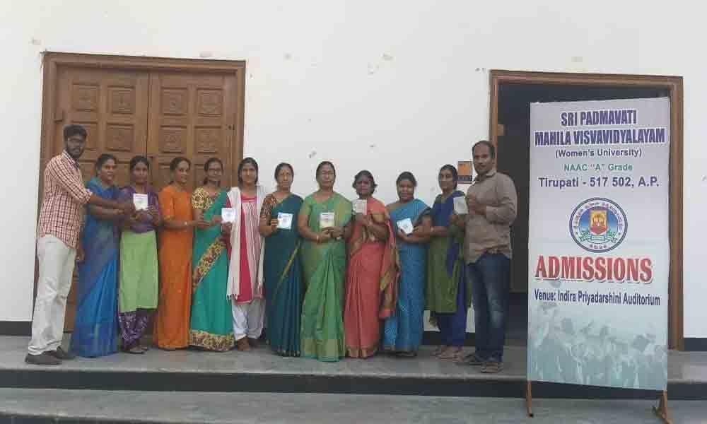 SPMVV PGCET results out in Tirupati