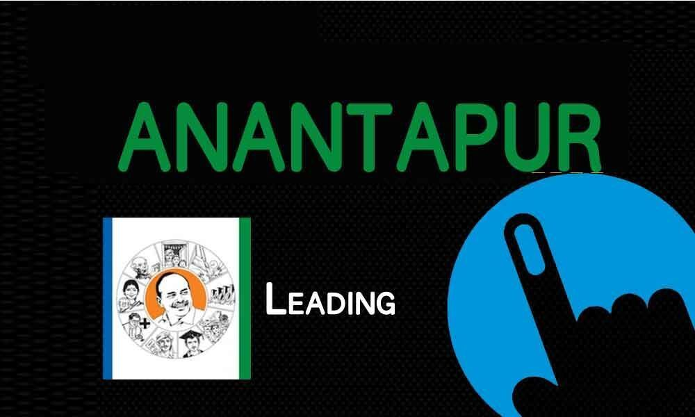 Three YSRCP candidates leading in Anantapur