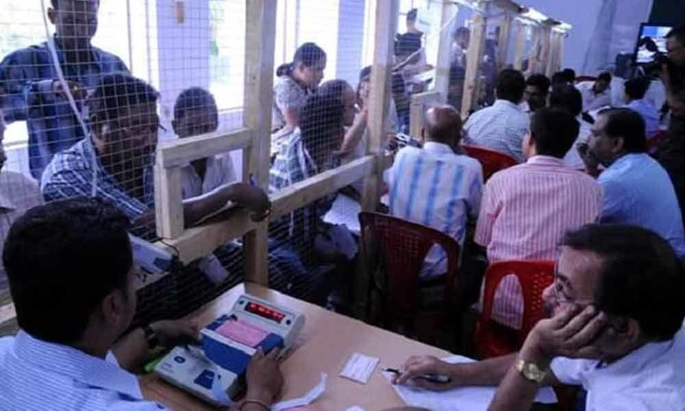 Counting of votes begin in Arunachal Pradesh
