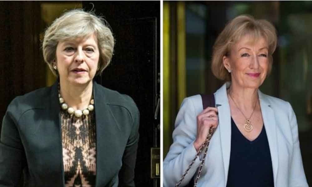 May faces pressure after Leadsom resigns