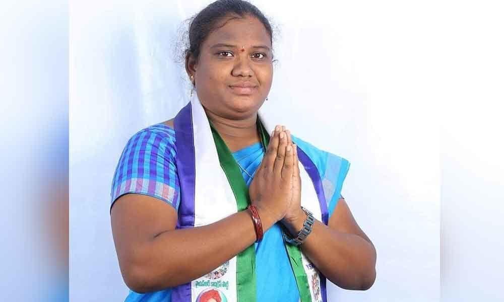 G Madhavi YSRCP Araku parliament candidate leading by 3600 votes