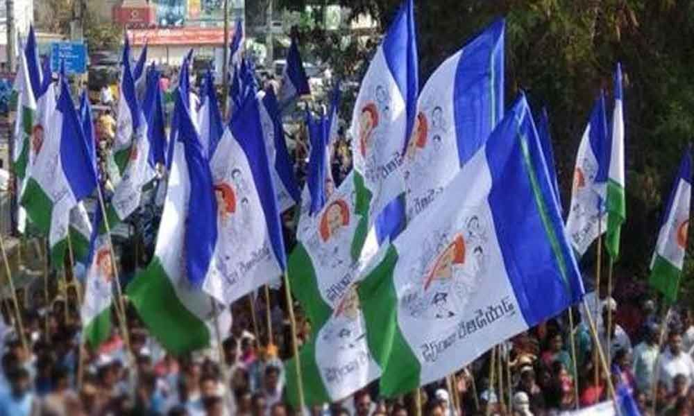 YSRCP activists conduct victory rally at Proddatur
