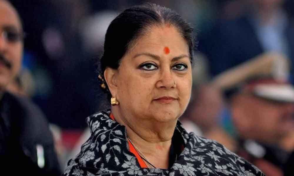 Vasundhara Raje thanks Rajasthan voters, praises BJP leadership