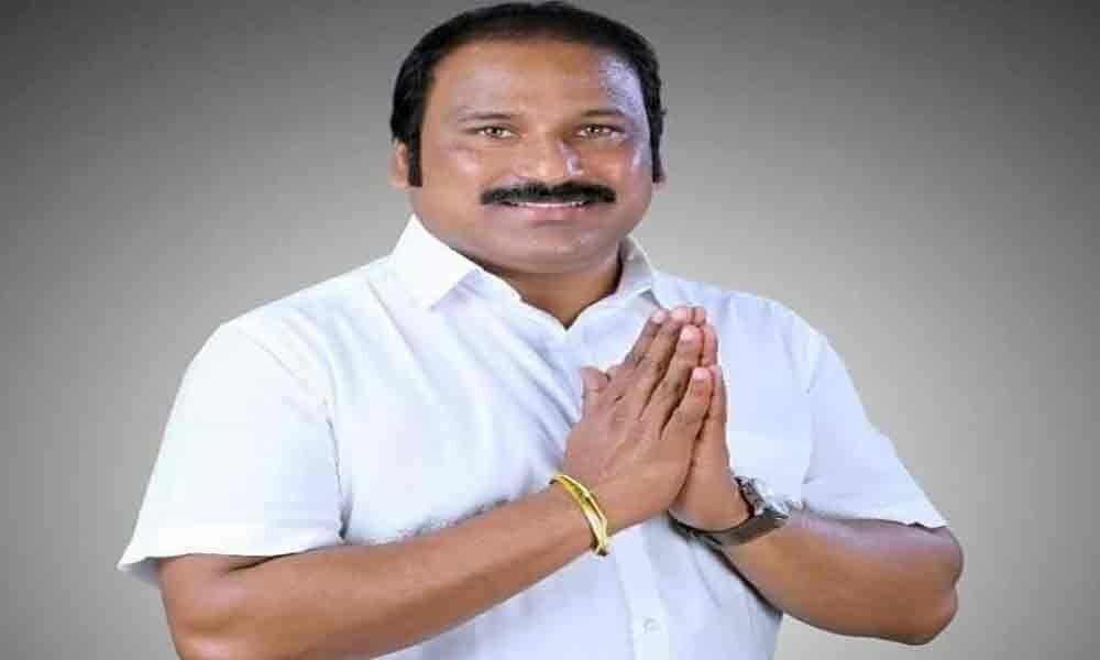 TJR Sudhakar wins from Santhanuthalapadu