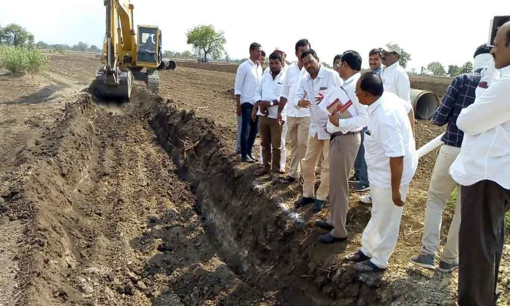 Officials to speed up lift irrigation project