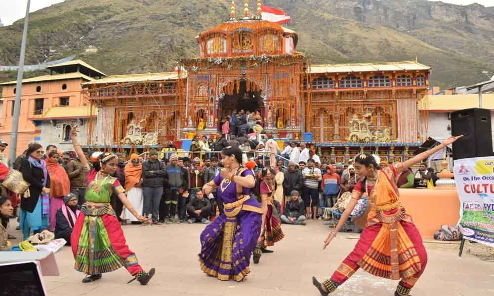 Dancing for the devout in Himalayas