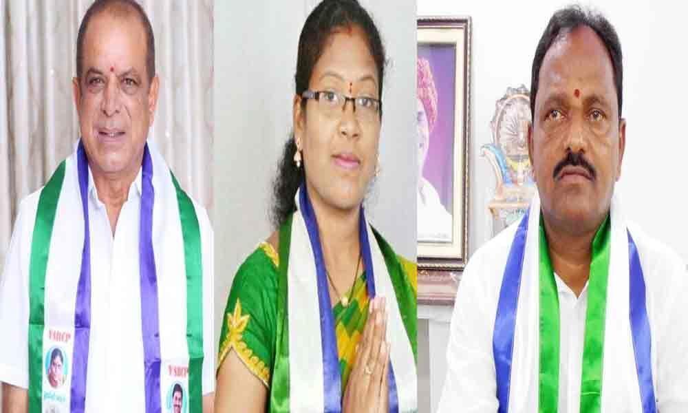 YSRCP wrests 11 seats in Vizag district