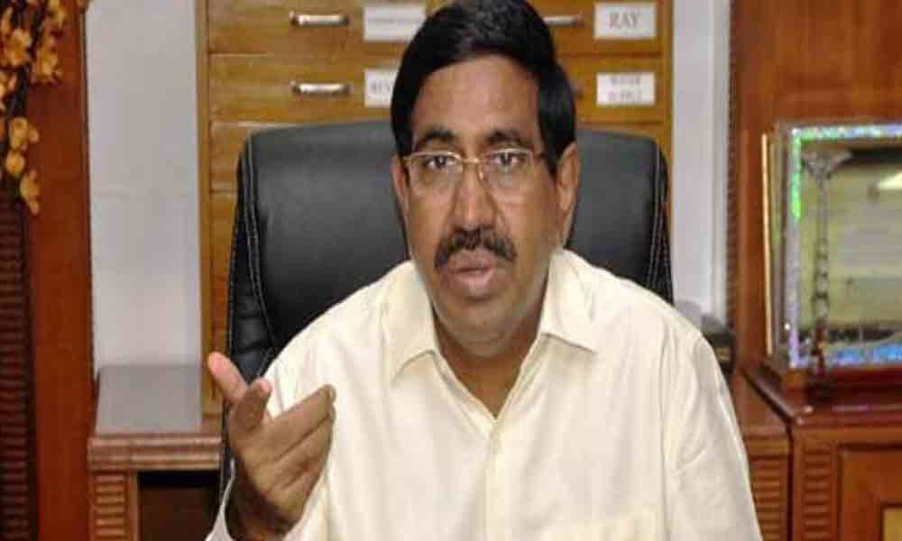 Minister Narayana gives a tough fight