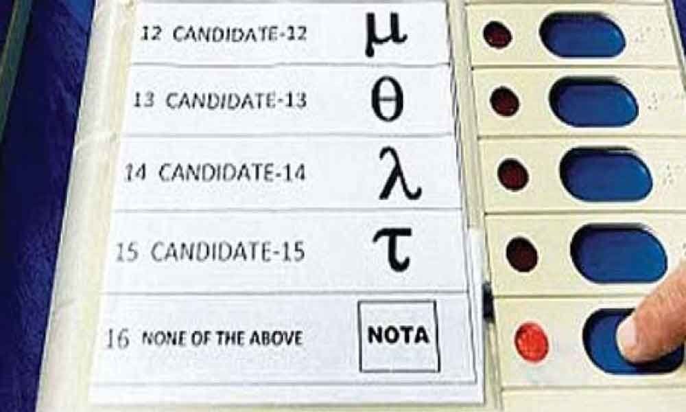 About 5.4 lakh Tamil Nadu voters choose NOTA