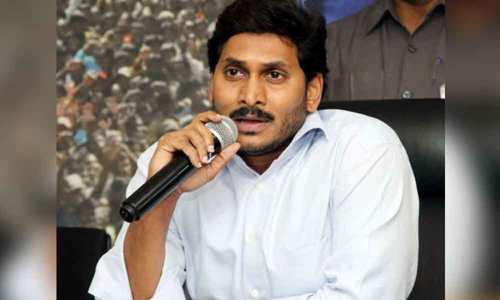 YS Jagan gets blessings from TTD priests