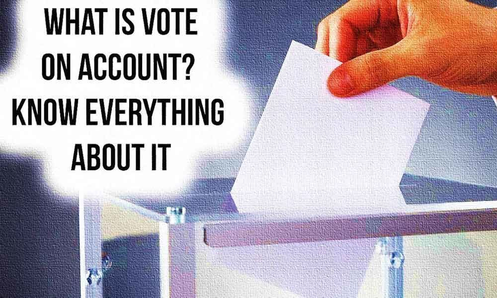 What Is Vote On Account? Let