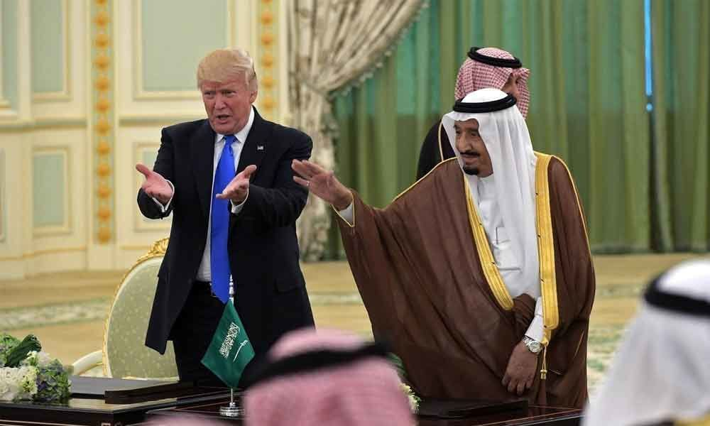 Donald Trumps gives approval to sell arms worth USD 8 billion to Saudi, UAE