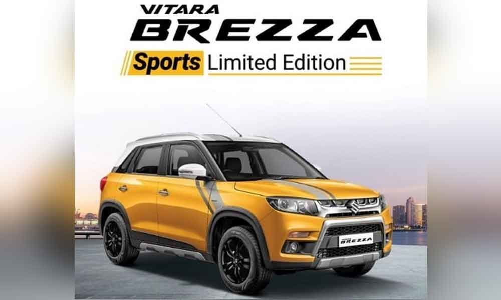 Maruti launches Sports Limited Edition of Vitara Brezza