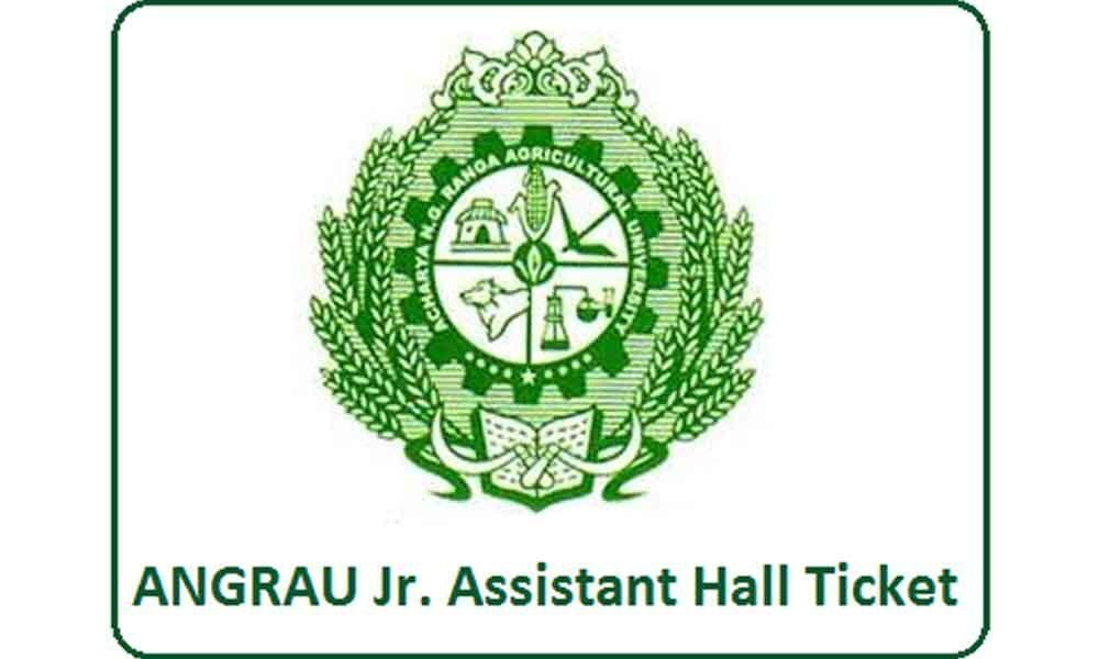 APPSC ANGRAU 2019 junior assistant cum typist hall tickets released