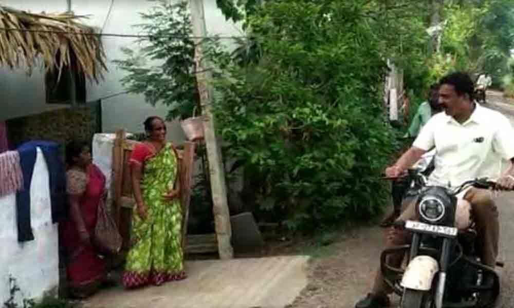 Bode Prasad thanks villagers