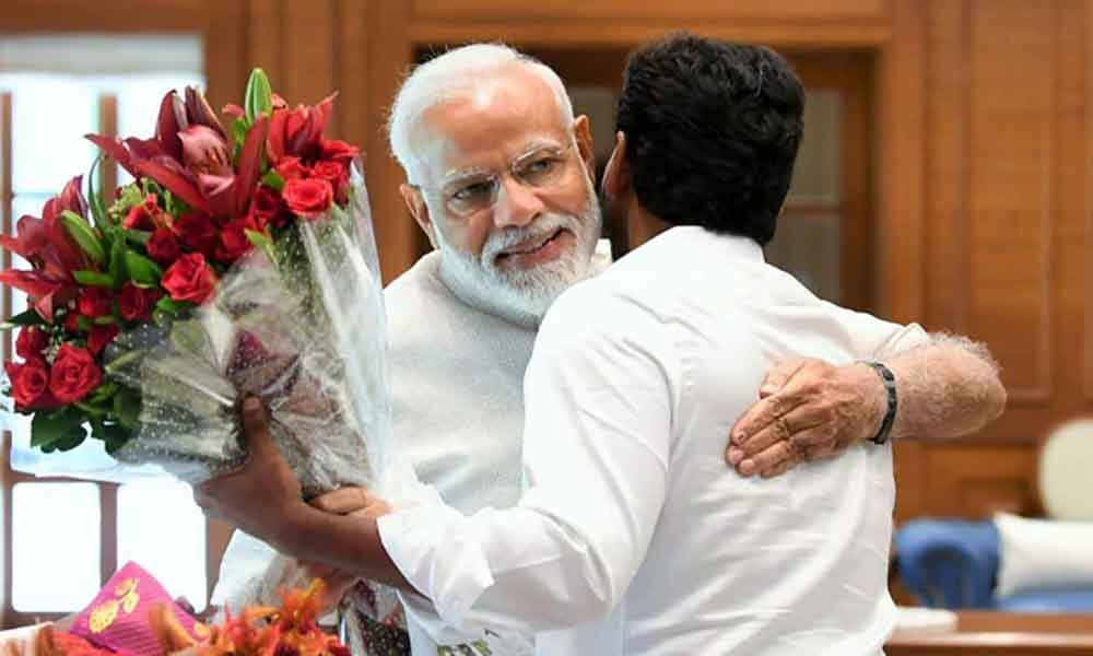 YS Jagan meets PM Modi, invites him to his oath-taking ceremony